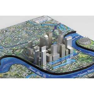 """4D Cityscape (40012) - """"London"""" - 1100 pieces puzzle"""