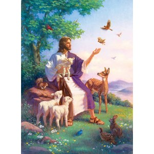 """SunsOut (55960) - Corbert Gauthier: """"Love for All"""" - 500 pieces puzzle"""