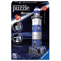 "Ravensburger (12577) - ""Lighthouse - Night Edition"" - 216 pieces puzzle"