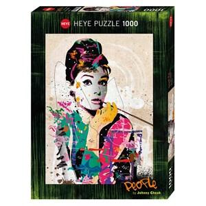 "Heye (29684) - Johnny Cheuk: ""Audrey"" - 1000 pieces puzzle"