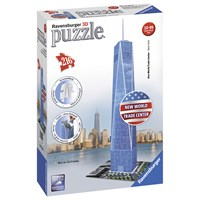 "Ravensburger (12562) - ""One World Trade Center NY"" - 216 pieces puzzle"
