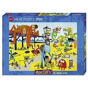 "Heye (29798) - Michael Slack: ""Monster Beach"" - 1000 pieces puzzle"