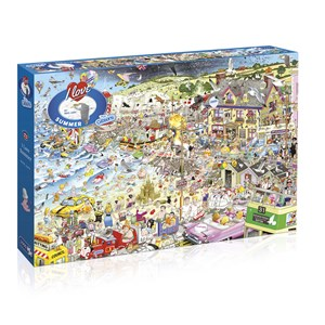 """Gibsons (G7038) - Mike Jupp: """"I Love Summer"""" - 1000 pieces puzzle"""