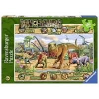 """Ravensburger (10609) - """"Dinosaurs"""" - 100 pieces puzzle"""