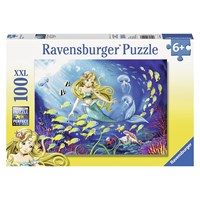 "Ravensburger (10511) - ""Little Mermaid"" - 100 pieces puzzle"