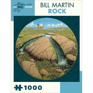 "Pomegranate (AA823) - Bill Martin: ""Rock"" - 1000 pieces puzzle"