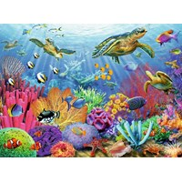 "Ravensburger (14661) - Adrian Chesterman: ""Tropical Waters"" - 500 pieces puzzle"