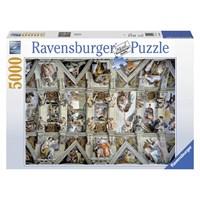 """Ravensburger (17429) - Michelangelo: """"Sistine Chapel"""" - 5000 pieces puzzle"""