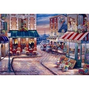 """Anatolian (PER3523) - John O'Brien: """"Café Rendezvous"""" - 750 pieces puzzle"""