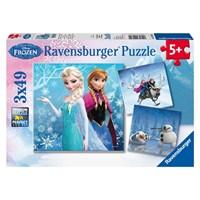 "Ravensburger (09264) - ""Winter Adventures"" - 49 pieces puzzle"