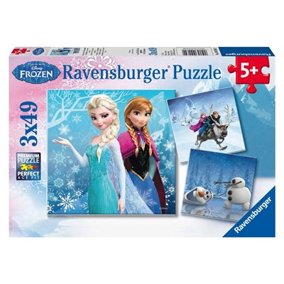 "Ravensburger (09264) - ""Winter Adventures"" - 49 pieces puzzle"