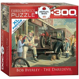 """Eurographics (8300-0441) - Bob Byerley: """"The Daredevil"""" - 300 pieces puzzle"""