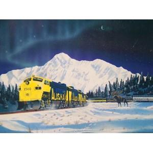 """SunsOut (21343) - Robert West: """"Alaskan Memories"""" - 1000 pieces puzzle"""