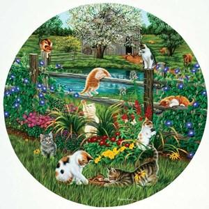 "SunsOut (45876) - Higgins Bond: ""Cats at Play"" - 500 pieces puzzle"