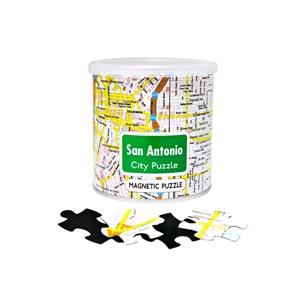 "Geo Toys (GEO 243) - ""City Magnetic Puzzle San Antonio"" - 100 pieces puzzle"