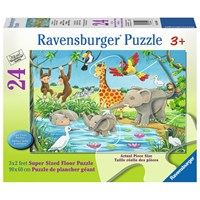"Ravensburger (05449) - ""Waterhole Fun"" - 24 pieces puzzle"