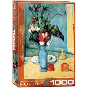 "Eurographics (6000-3802) - Paul Cezanne: ""Blue Vase"" - 1000 pieces puzzle"