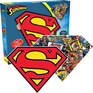 """Aquarius (75017) - """"Superman Logo"""" - 600 pieces puzzle"""
