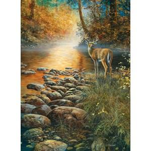 """SunsOut (67372) - Jim Hansel: """"Forest Haven"""" - 500 pieces puzzle"""