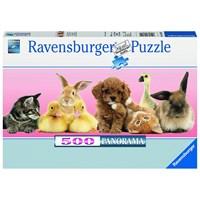 """Ravensburger (14801) - """"Animal Friends"""" - 500 pieces puzzle"""