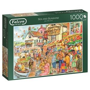 """Falcon (11175) - Jim Mitchell: """"Sea & Sunshine"""" - 1000 pieces puzzle"""