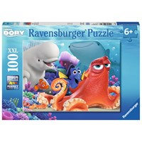 "Ravensburger (10875) - ""Finding Dory: Adventure is Brewing"" - 100 pieces puzzle"