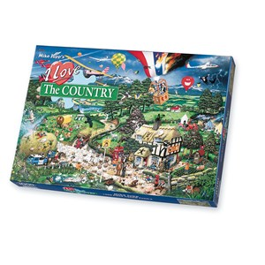 """Gibsons (G576) - Mike Jupp: """"I Love the Country"""" - 1000 pieces puzzle"""