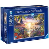 "Ravensburger (17824) - David Penfound: ""Paradise Sunset"" - 18000 pieces puzzle"
