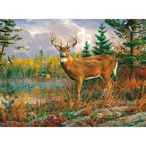 """Buffalo Games (11182) - Hautman Brothers: """"Tranquil Moment"""" - 1000 pieces puzzle"""