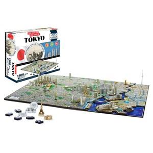 """4D Cityscape (40034) - """"Tokyo"""" - 1000 pieces puzzle"""
