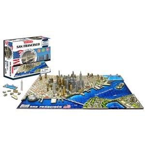 """4D Cityscape (40044) - """"San Francisco"""" - 1100 pieces puzzle"""