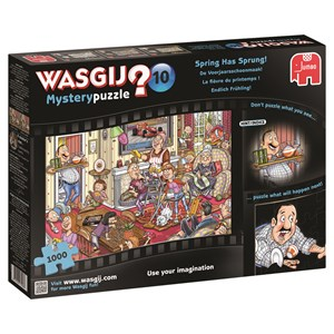 """Jumbo (17406) - Graham Thompson: """"Wasgij Mystery #10: Spring Has Sprung"""" - 1000 pieces puzzle"""