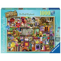 "Ravensburger (19412) - Colin Thompson: ""The Craft Cupboard"" - 1000 pieces puzzle"