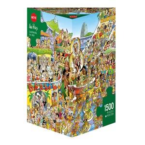 """Heye (29752) - Hugo Prades: """"Carnival in Rio"""" - 1500 pieces puzzle"""