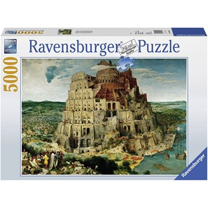 "Ravensburger (17423) - Pieter Brueghel the Elder: ""The Tower of Babel"" - 5000 pieces puzzle"