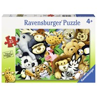 "Ravensburger (08794) - ""Softies"" - 35 pieces puzzle"