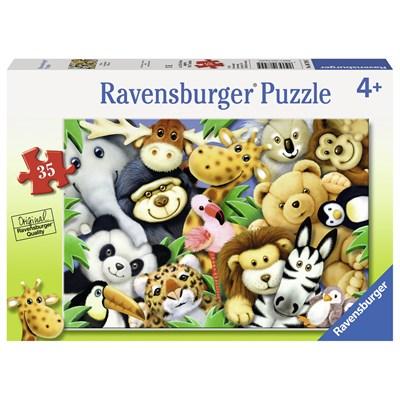 "Ravensburger (08794) - ""Softies"" - 35 pieces puzzle"
