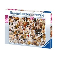 "Ravensburger (15633) - ""Dogs Galore!"" - 1000 pieces puzzle"