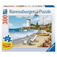 "Ravensburger (13535) - Alan Giana: ""Sunlit Shores"" - 300 pieces puzzle"