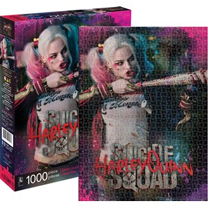 """Aquarius (65282) - """"Harley Quinn"""" - 1000 pieces puzzle"""