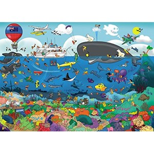 "Goliath Games (71344) - ""Great Barrier Reef"" - 1000 pieces puzzle"