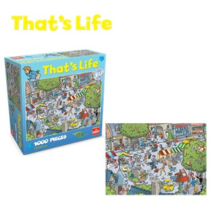 "Goliath Games (71304) - ""The Village"" - 1000 pieces puzzle"