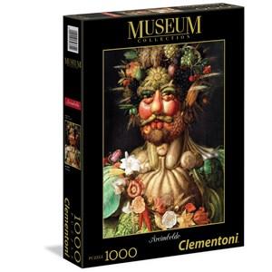 """Clementoni (39331) - Giuseppe Arcimboldo: """"Arcimboldo: Vertumnus"""" - 1000 pieces puzzle"""