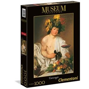 "Clementoni (31445) - Caravaggio: ""Bacchus"" - 1000 pieces puzzle"