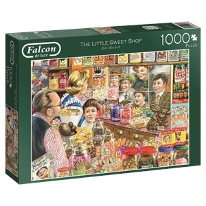 "Falcon (11079) - Jim Mitchell: ""The Little Sweet Shop"" - 1000 pieces puzzle"