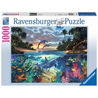 "Ravensburger (19145) - ""Coral Bay"" - 1000 pieces puzzle"