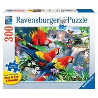 "Ravensburger (13534) - Howard Robinson: ""Tropical Birds"" - 300 pieces puzzle"