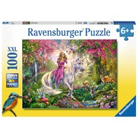 "Ravensburger (10641) - ""Magical ride"" - 100 pieces puzzle"