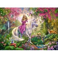 "Ravensburger (10641) - ""Magical ride"" - 100 pieces puzzle"