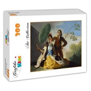 """Grafika Kids (00344) - Francisco Goya: """"El Quitasol, 1777"""" - 300 pieces puzzle"""